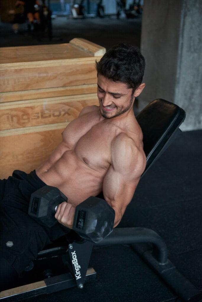 ağırlık çalışması ve zorlanma