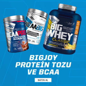 bigjoy protein tozu ve bcaa