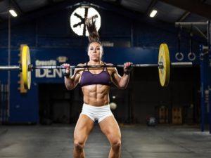 crossfit kadın fitness