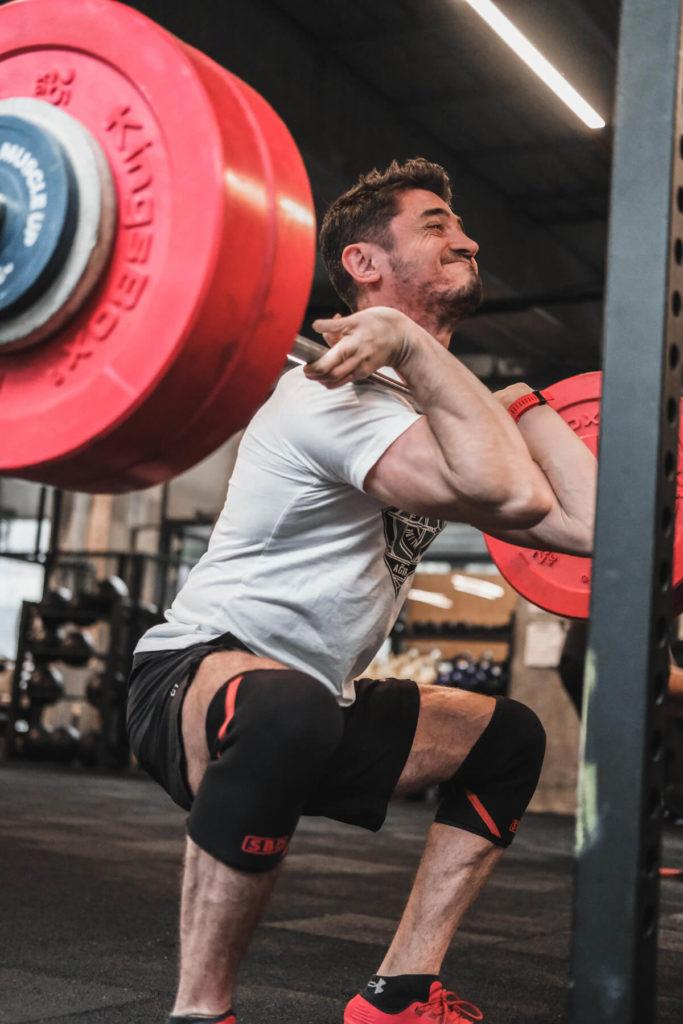 powerlifting front squat gelişim
