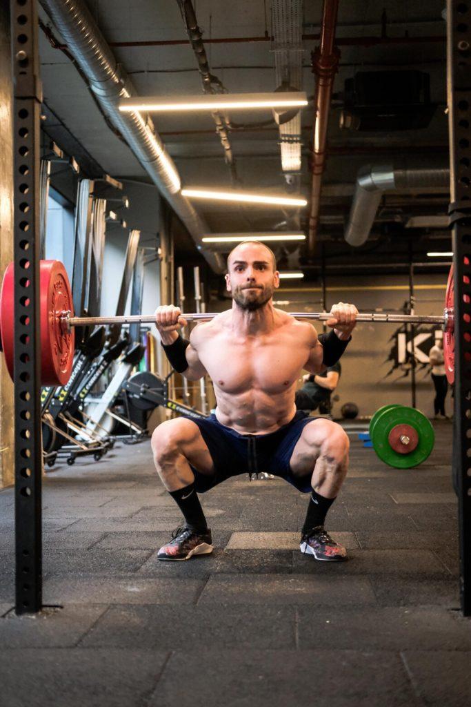 pause tekniği squat