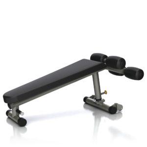 decline bench göğüs ve karın kaslarını çalıştırmak için kullanılır