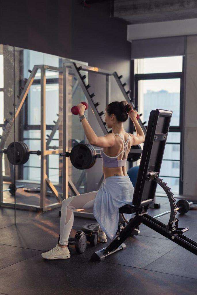 vegan kadınlar fitness