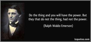 Ralp Waldo Emerson