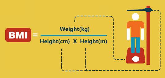 vücut kitle indeksi nasıl hesaplanır formülü