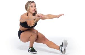 tek bacak squat