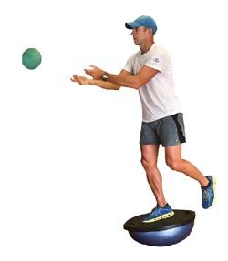 T-Stance denge egzersizi