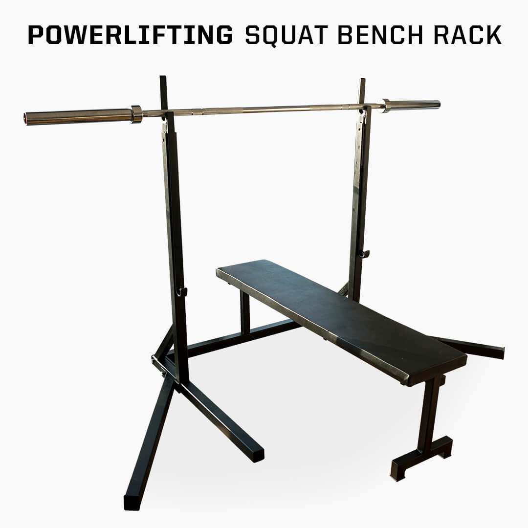 powerlifting squat bench rack