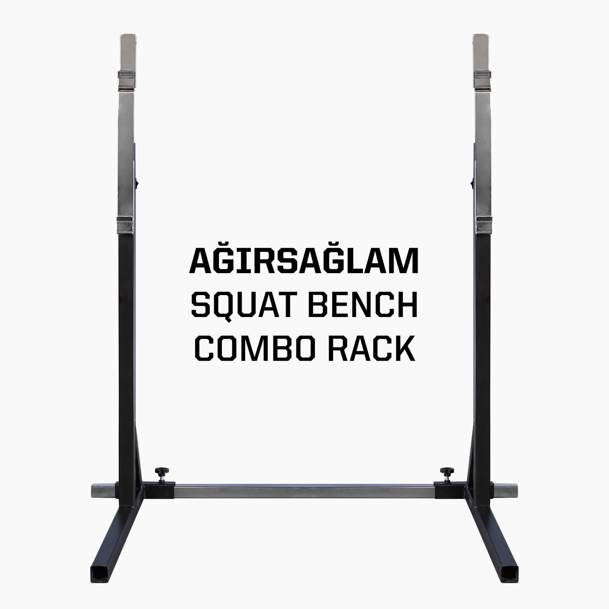 Ağırsağlam Squat Bench Combo Rack