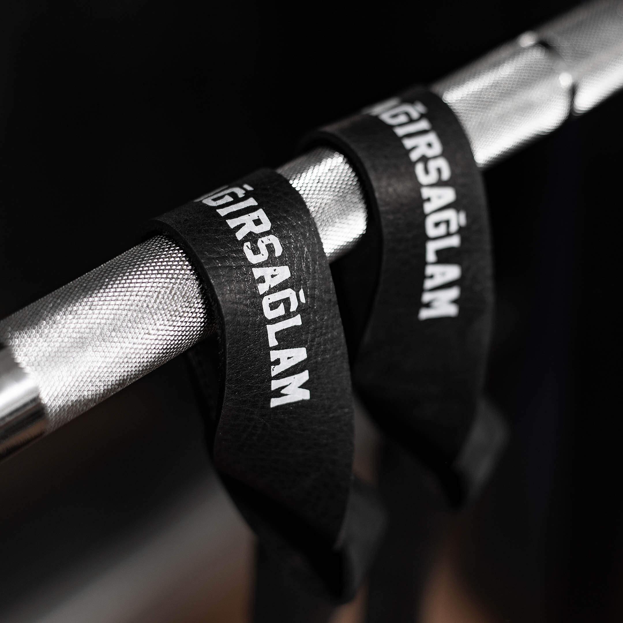 deri lifting strap bilek kayışları ile daha ağır deadlift yapın