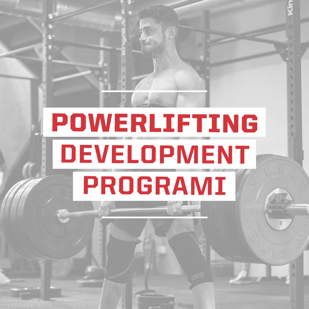 powerlifting development programı