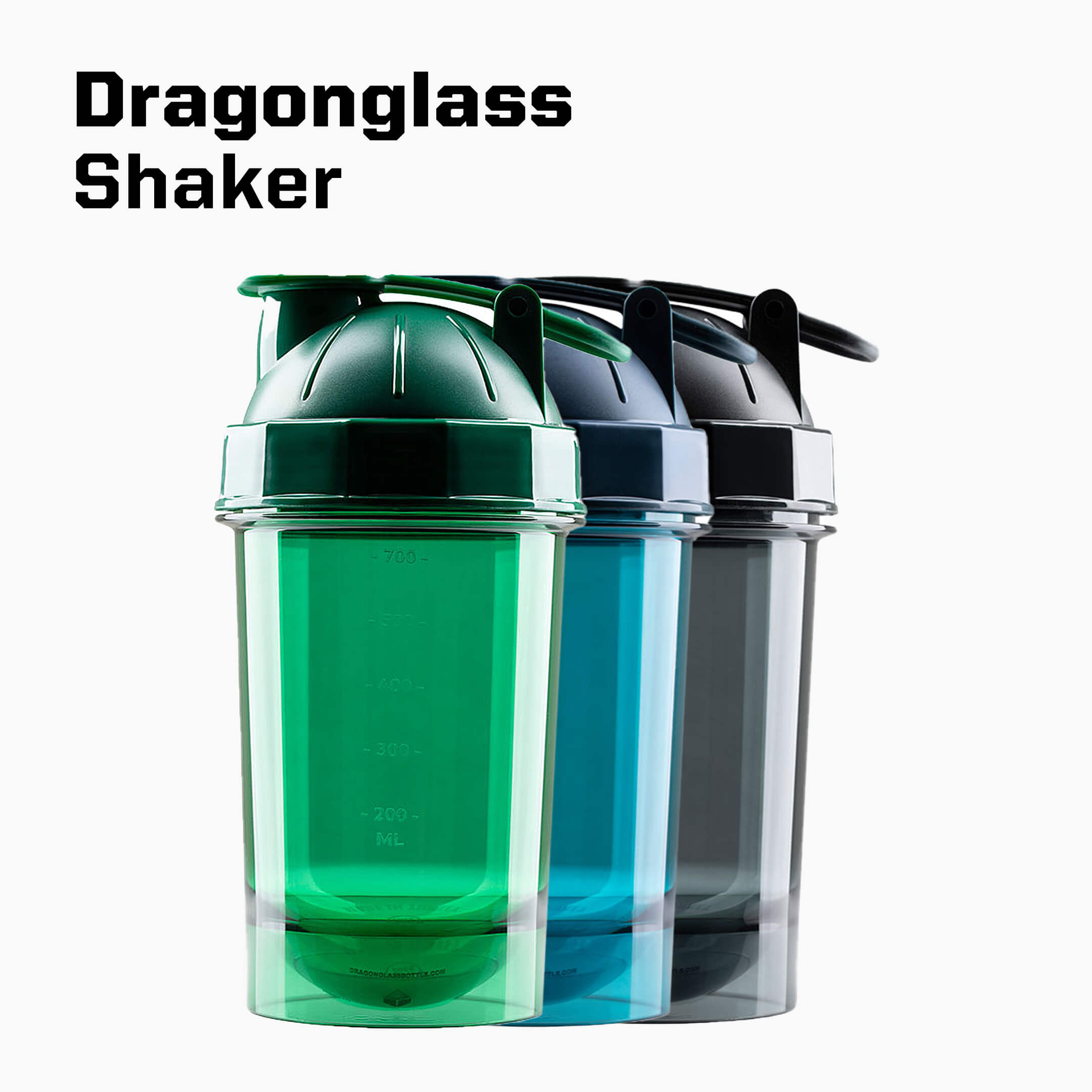 Dragonglass shaker tritan